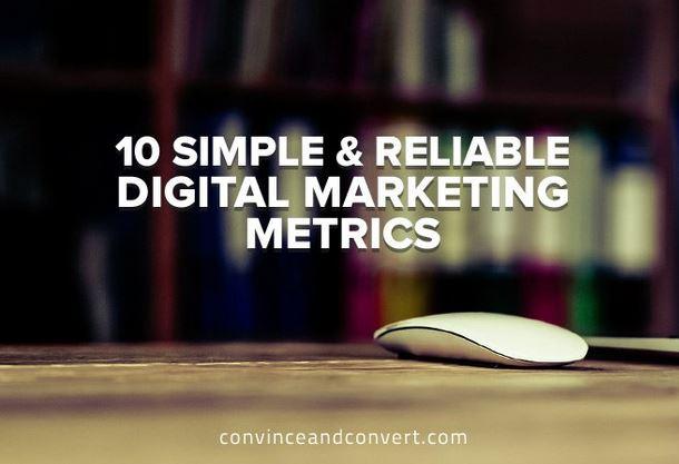 10 Digital Marketing Metrics