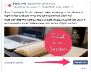 How-To Boost Posts on Facebook